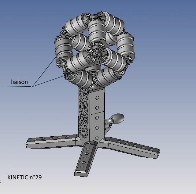 kinetic n°29.jpg Télécharger fichier STL gratuit KINETIC 2 • Plan pour imprimante 3D, NOP21