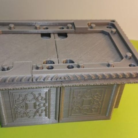 d790c710b50b3c35e8973711c9b81ede_preview_featured.jpg Download free STL file Box - Chest Renaissance XVI ème • 3D printing object, NOP21