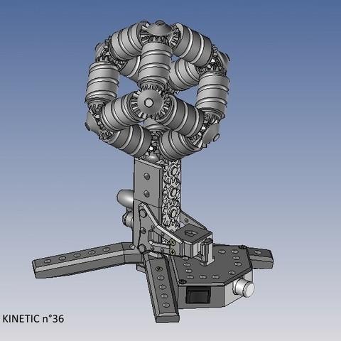 kinetic n°36.jpg Télécharger fichier STL gratuit KINETIC 2 • Plan pour imprimante 3D, NOP21
