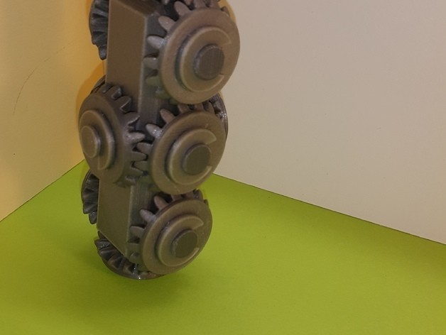 e1f6332fe3d3ce7e6506cc852a707f7e_preview_featured.jpg Download free STL file Head with 10 bevel gears • 3D print object, NOP21