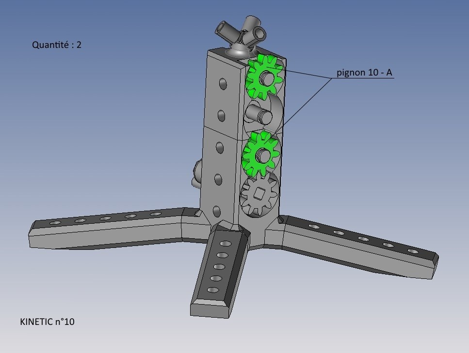 kinetic n°10.jpg Télécharger fichier STL gratuit KINETIC 2 • Plan pour imprimante 3D, NOP21