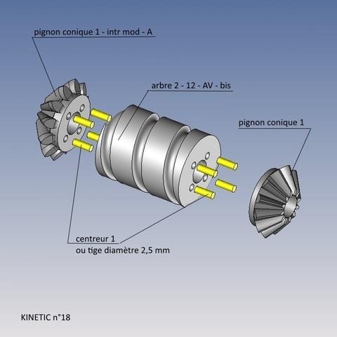 kinetic n°18.jpg Télécharger fichier STL gratuit KINETIC 2 • Plan pour imprimante 3D, NOP21