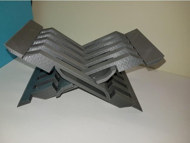 8d09f802db417cb6158e3d918f4f9861_preview_featured.jpg Download free STL file Uzbek lectern • Template to 3D print, NOP21