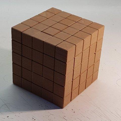 Free STL Puzzle Cube, NOP21