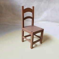 Free STL file Miniature chair, NOP21