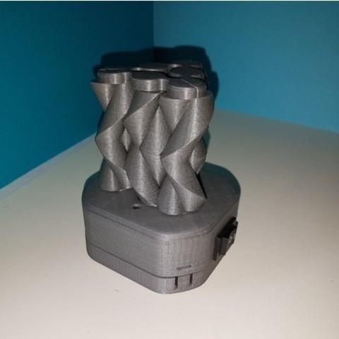 9d04cb7ea19c2d98e0ba7dafd5847eb0_preview_featured.jpg Download free STL file Six strange motorized gear • Model to 3D print, NOP21