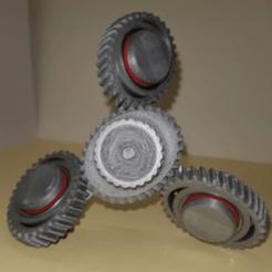 Download free STL Spinner Elliptical gear, NOP21