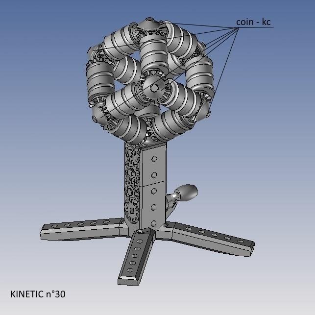 kinetic n°30.jpg Télécharger fichier STL gratuit KINETIC 2 • Plan pour imprimante 3D, NOP21