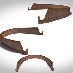 Impresiones 3D soporte del estante + UV, 3Dvision
