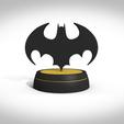 STL files Bat symbol 1989, 3Dvision