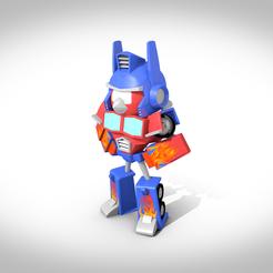 stl Figurine RedPrime , 3Dvision