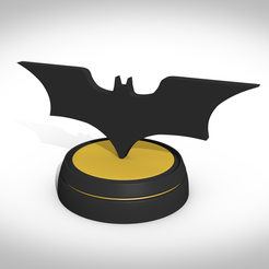 Download 3D printer templates Bat-Logo, 3Dvision