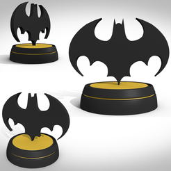 Download 3D print files Bat symbol 1989, 3Dvision