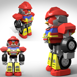 "Fichier 3D Figurine terence "" Sentinel Prime "", 3Dvision"