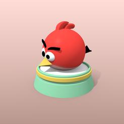 Modèle 3D Figurine Angry Bird, 3Dvision
