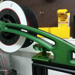 Download free 3D printing templates Spool_holder_CR10_TEVO_TORNADO, frasart
