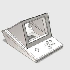 Mini_arcade_rendu_2.png Télécharger fichier STL gratuit Mini arcade minitel • Objet à imprimer en 3D, Velta-3D
