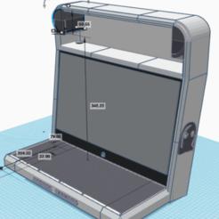 Descargar archivo 3D gratis Los fabricantes de arcadas de bartop mini vewlix, Velta-3D