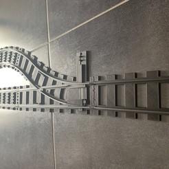 Impresiones 3D gratis Conjunto de rieles + Intercambio de la ciudad, Velta-3D