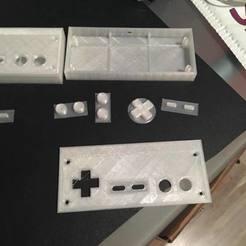 Descargar modelo 3D gratis Controlador de NES AM, Velta-3D