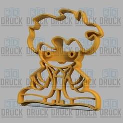 Télécharger plan imprimante 3D Petit Prince - Le Petit Prince /Cookie Cutter, juampi94