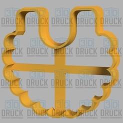 babero.jpg Télécharger fichier STL Bavoir - Bavoir coupe-biscuits • Modèle imprimable en 3D, 3DDruck