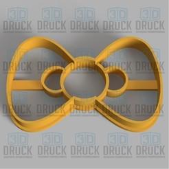 Télécharger STL Arc - Coupe-biscuits à l'arc, 3DDruck