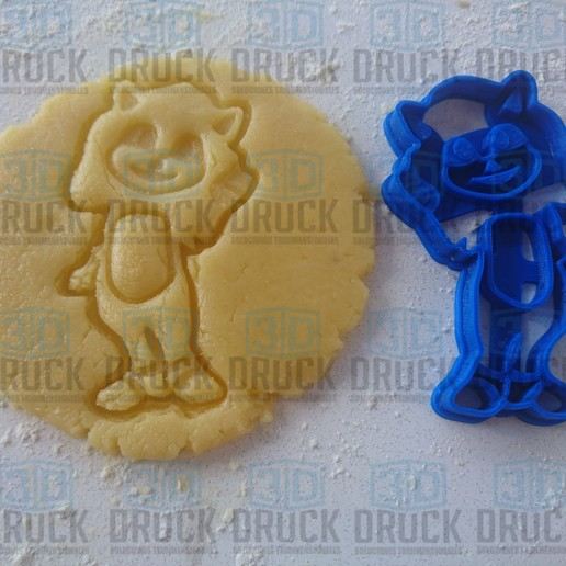 Download 3D printer templates Baby Sonic - Sonic Bebe - Movie. COOKIE CUTTER, 3DDruck