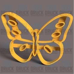 Mariposa 2.jpg Download STL file Butterfly - Butterfly - Cookie Cutter • 3D print design, 3DDruck