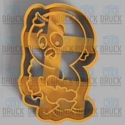 pollito.jpg Télécharger fichier STL Poulet - Coupe-biscuits au poulet • Design pour impression 3D, 3DDruck