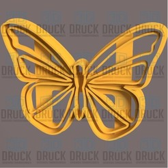 Mariposa 1.jpg Download STL file Butterfly - Butterfly - Cookie Cutter • 3D print design, 3DDruck