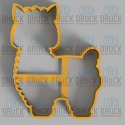 Descargar diseños 3D Alpaca - Llama Cookie Cutter, 3DDruck