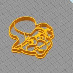 3D print files Cookie Cutter- Manuelita, juampi94