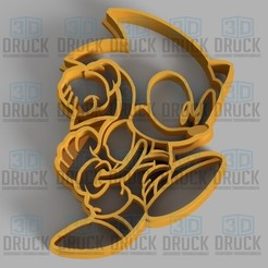 Download 3D printing designs Sonic Cookie Cutter, 3DDruck