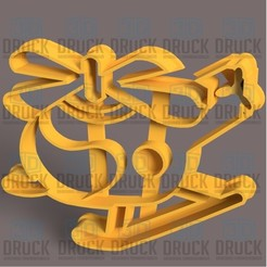 Helicoptero.jpg Download STL file Helicopter - Helicopter Cookie Cutter • Model to 3D print, 3DDruck