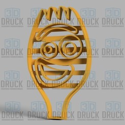 fideo toy.jpg Download STL file Forky Toy Story Cookie Cutter • 3D print design, 3DDruck