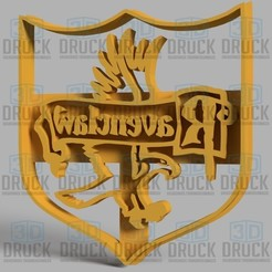 Download 3D printer files Harry Potter Ravenclaw Cookie Cutter, 3DDruck