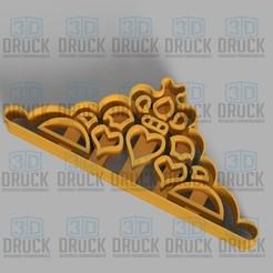 CORONA.jpg Télécharger fichier STL Couronne - Coupe-biscuits de la Couronne • Design pour impression 3D, 3DDruck