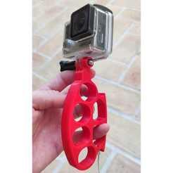 16.jpeg Télécharger fichier STL GoPro Fist • Objet pour imprimante 3D, Thinking3Dthings