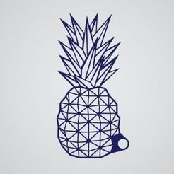 Télécharger fichier impression 3D gratuit Porte-clés ananas, Thinking3Dthings