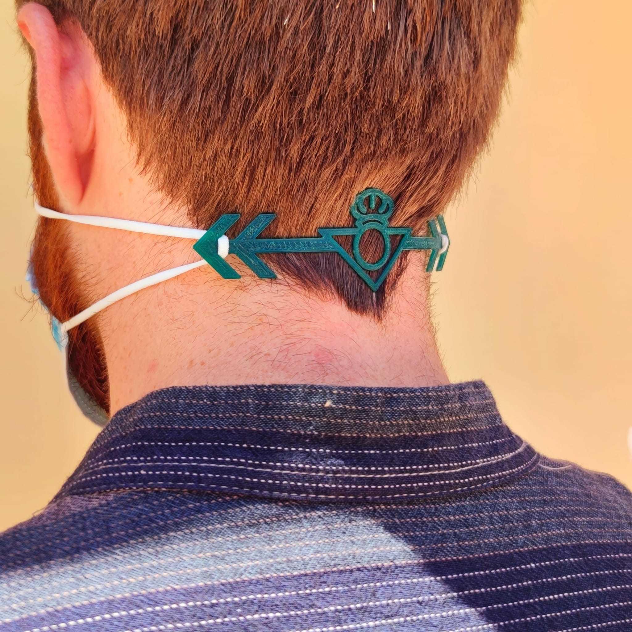 2.jpeg Télécharger fichier STL Economiseur d'oreilles, véritable Betis COVID-19 • Design à imprimer en 3D, Thinking3Dthings