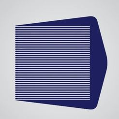 Download 3D printing templates Hairdresser's Leveling Comb V1, Thinking3Dthings