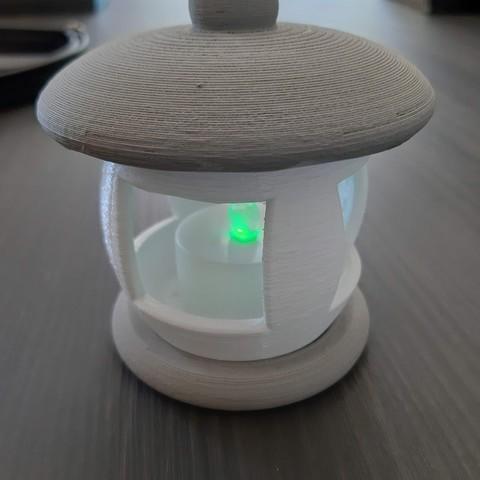 Download free 3D model Lantern lantern, pinuts31