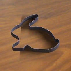 lapin.jpg Download free STL file Rabbit cutter • 3D printer template, Kana3D