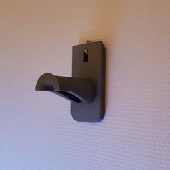 archivos 3d Soporte de pared para la bobina gratis, Kana3D