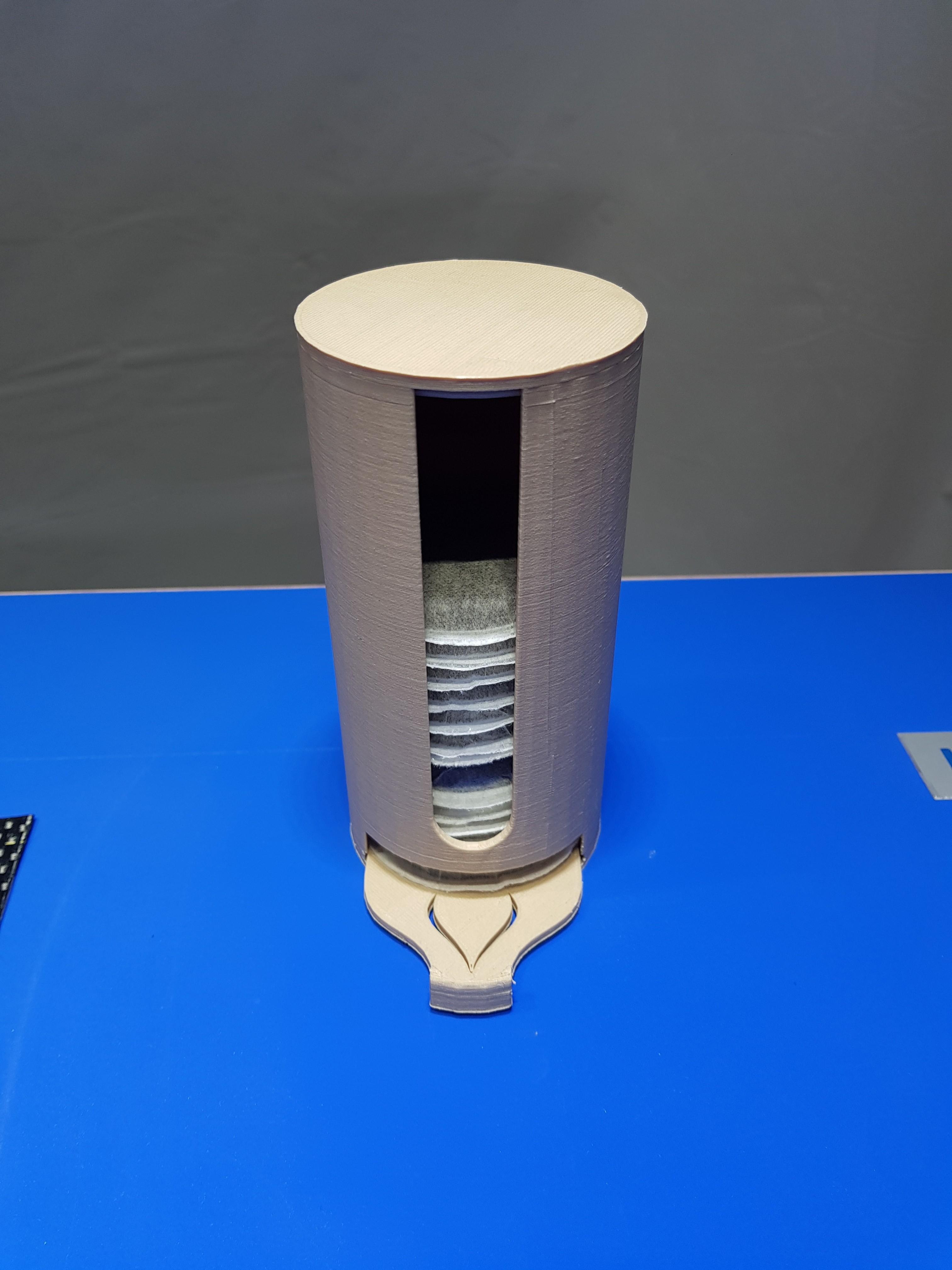 20180227_121436.jpg Télécharger fichier STL gratuit Distributeur Dosette Senseo  • Plan à imprimer en 3D, Kana3D