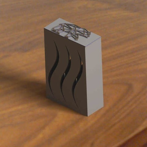 Download free STL file Box of pocket (for cigarette or other ..) • 3D printable model, Kana3D