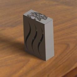 etui et couvercle.jpg Download free STL file Box of pocket (for cigarette or other ..) • 3D printable model, Kana3D