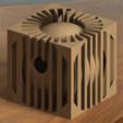 Mangeoire rendu réaliste 1.PNG Download STL file Nesting box birds • 3D printable template, Kana3D