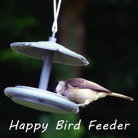 3D print files Happy Bird Feeder, Kana3D